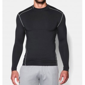 Winter - Winter - Torwartbekleidung - kopen - Under Armour kaltGear Armour Kompression LS – schwarz