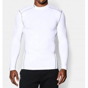 Winter - Winter - Torwartbekleidung - kopen - Under Armour kaltGear Armour Kompression LS – weiß