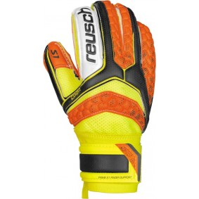 Fingersave Torwarthandschuhe - Reusch Torwarthandschuhe - Torwarthandschuhe junior - kopen - Reusch Re:Pulse Prime S1 Finger Support Junior orange/gelb