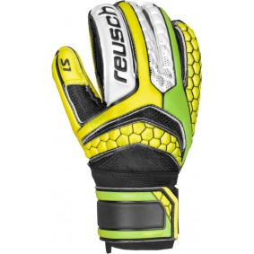 Fingersave Torwarthandschuhe - Reusch Torwarthandschuhe - Torwarthandschuhe junior - kopen - Reusch Re:Pulse Prime S1 Finger Support Junior grün/gelb