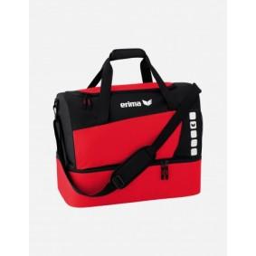 Sporttaschen - Torwart Zubehör - kopen - Erima Club 5 Sporttas mit Bodenfach L – rot