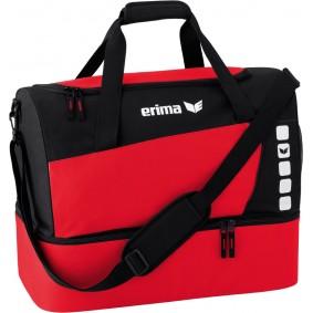 Sporttaschen - Torwart Zubehör - kopen - Erima Club 5 Sport Tasche mit Bodenfach rot
