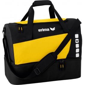 Sporttaschen - Torwart Zubehör - kopen - Erima Club 5 Sport Tasche mit Bodenfach gelb