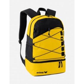 Sporttaschen - Torwart Zubehör - kopen - Erima Club 5 Rucksack gelb