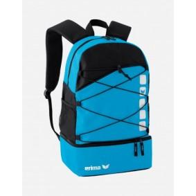 Sporttaschen - Torwart Zubehör - kopen - Erima Club 5 Rucksack blau