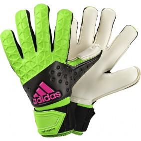 Adidas Torwarthandschuhe - Ausverkauf Torwarthandschuhe - kopen - Adidas Ace Half Negative grün schwarz (Aktion)