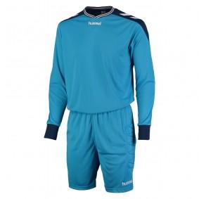 Torwartbekleidung - Torwartsets - kopen - Hummel Basel Torwart Set blau