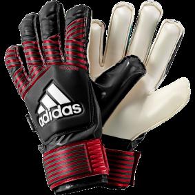 Adidas Torwarthandschuhe - Fingersave Torwarthandschuhe - Torwarthandschuhe junior - kopen - Adidas Ace FS Junior schwarz/rot