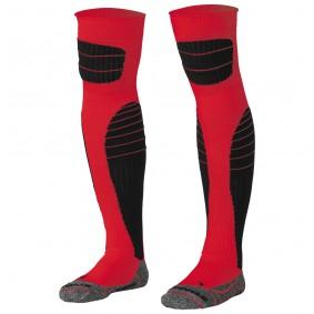 Torwart Socken - Torwartbekleidung - kopen - Stanno High impact Torwart Socken rot-schwarz