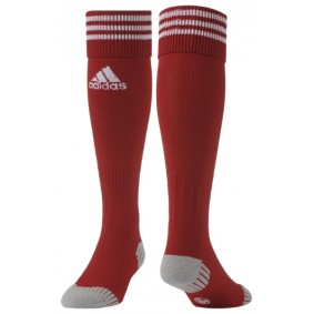 Torwart Socken - Torwartbekleidung - kopen - Adidas AdiSocken Power rot/weiß