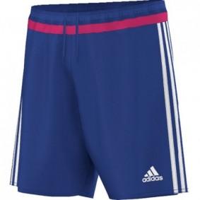 Ausverkauf Torwartbekleidung - Torhüter hosen - Torwartbekleidung - kopen - Adidas kurze Hose Campeon 15 Bold blau JR (Aktion)