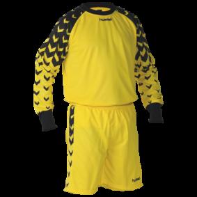 Ausverkauf Torwartbekleidung - Torwartbekleidung - Torwartsets - kopen - Hummel Dundee Torwartset schwarz/gelb (Aktion)