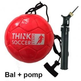 Fußbälle - Torwart Zubehör - kopen - TSS Ball rot inkl. Ball lpumpe
