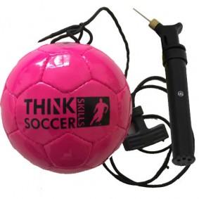 Fußbälle - Torwart Zubehör - kopen - TSS Ball Pink inkl. Ball lpumpe